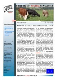 ZAR-Newsletter Ausgabe 7-2006