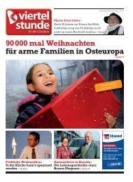 90 000 mal Weihnachten für arme Familien in ... - Viertelstunde.ch