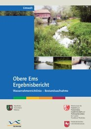 Obere Ems Ergebnisbericht - Flussgebiete in NRW