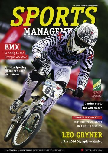 Sports Management Q2 2011 - UUM