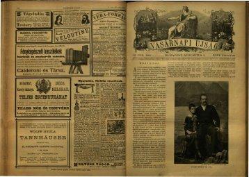 Vasárnapi Ujság 1888. 35. évf. 32. sz. augusztus - EPA