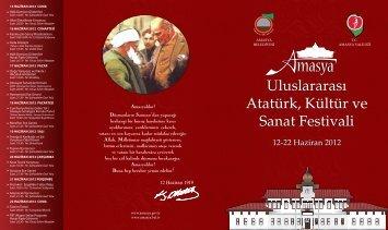 Uluslararası Atatürk, Kültür ve Sanat Festivali - Amasya Valiliği