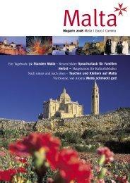Magazin 2008 Malta   Gozo   Comino Ein Tagebuch - Malta-Tours.de