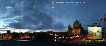 Bombardeo de poemas sobre Berlín - Casagrande