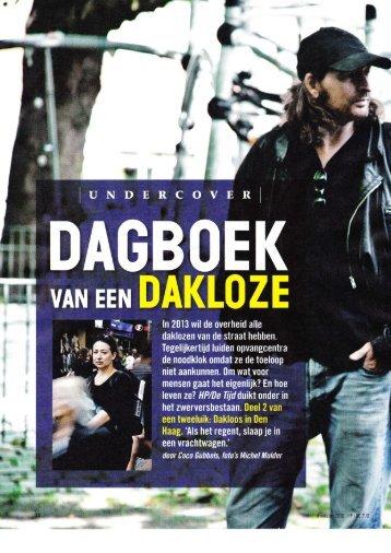 HPdeTijd 2010 wk 40 Dagboek van een dakloze