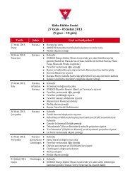 Küba Kültür Gezisi 27 Ocak – 05 Şubat 2013 (9 gece – 10 gün)