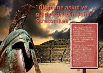 Ölümüne aşkın ve gladyatörlerin şehri Stratonikea - Bilişim Dergisi