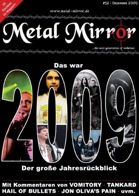 METAL MIRROR #32 - JAHRESRÜCKBLICK 2009