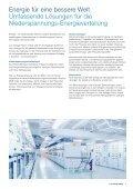 Low Voltage Power Die Energie unserer Mitarbeitenden fliesst in die ... - Seite 3
