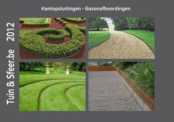 Kantopsluitingen - Gazonafboordingen - Tuin & Sfeer
