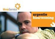 urgentie huurwoning - WoonService Den Bosch