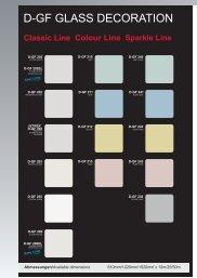 Online-Farbkarte D-GF Glass Decoration Series (PDF -