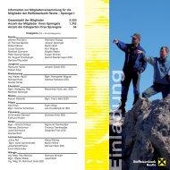 Einladung Mitgliederversammlungen 2009.cdr - Raiffeisen