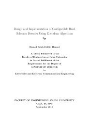 Design and Implementation of Configurable Reed Solomon ...