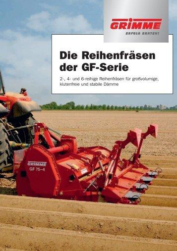 Die Reihenfräsen der GF-Serie - bei Grimme