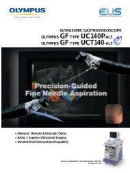 GF-UC140P-AL5, GF-UCT140-AL5 Ultrasonic ... - Olympus America
