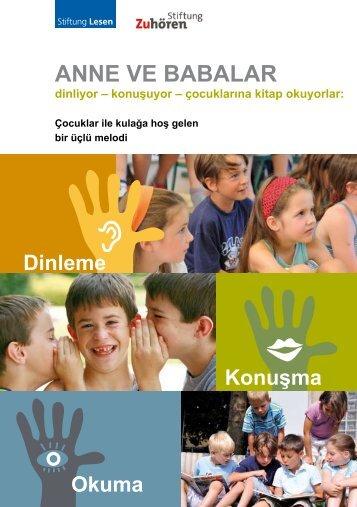 ANNE VE BABALAR - Stiftung Zuhören