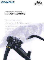 Sales Brochure: GF-UM160 - Olympus America
