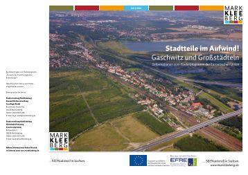 EFRE-Broschüre Ausgabe 01 - Stadt Markkleeberg