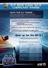 Oil profile Product name (SN/GF-5)