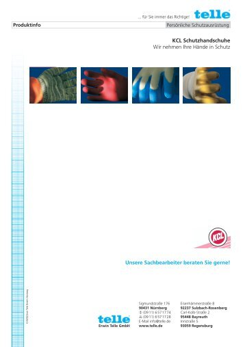 Entwurf KCL Katalog 11.indd - Erwin Telle GmbH