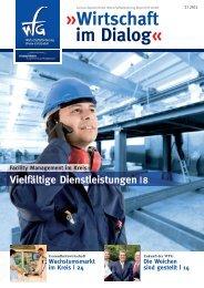 Wirtschaft im Dialog« - Wirtschaftsförderung Rhein-Erft GmbH