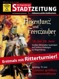 Download gesamte Ausgabe (PDF, 17943 kb) - Regensburger ...