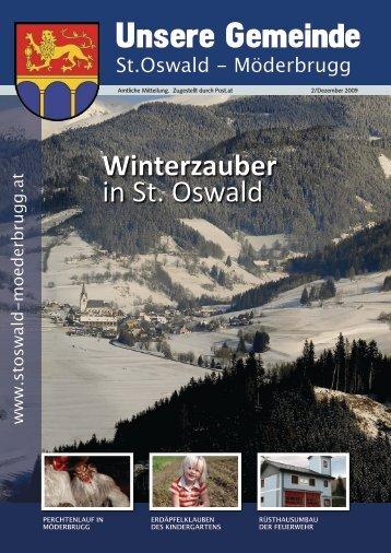 Ausgabe Dezember 2009 - Gemeinde St.Oswald-Möderbrugg