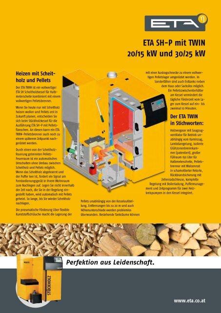 ETA SH-P mit TWIN 20/15 kW und 30/25 kW - Solar-Partner
