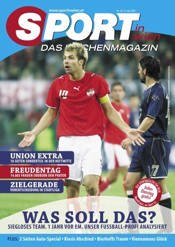 SPIW 01_COVER kk.indd - SPORT in wien TV