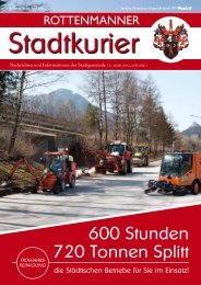 Stadtkurier April 2011 - Rottenmann