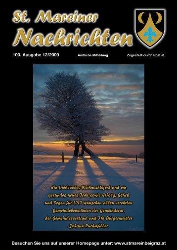 St.Mareiner Nachrichten Ausgabe 100 (Dezember 2009).pdf