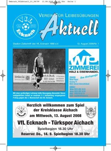 Umbruch_VfLAktuell_01_08/09 - VfL Ecknach