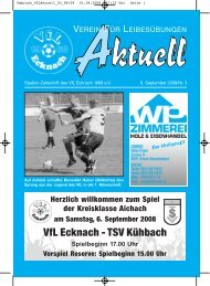 Umbruch_VfLAktuell_03_08/09 - VfL Ecknach
