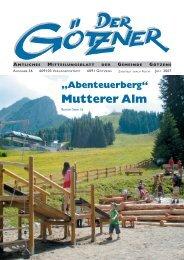 Der Götzner Juli 2007 - Götzens - Land Tirol