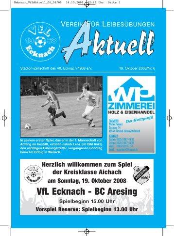 Umbruch_VfLAktuell_06_08/09 - VfL Ecknach
