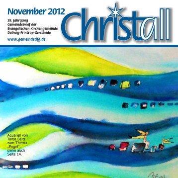 Christall Ausgabe 9 - November 2012 - Gemeinde DFG