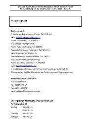 Kirche und Leben Aktuell KW 28 - Katholische Pfarrei Heilig Geist ...