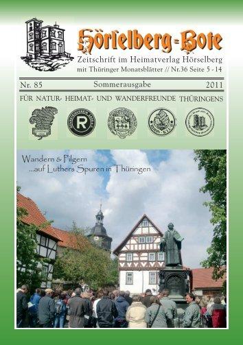 HBB-Nr. 85.pdf - Hörselberg Bote