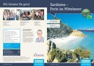 Sardinien – Perle im Mittelmeer - Derpart Reisebuero Bayreuth
