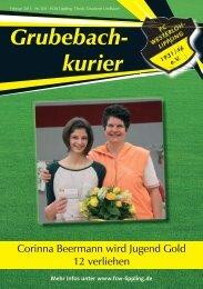Grubebachkurier Nr. 205 - FC Westerloh-Lippling