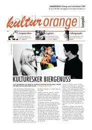 Die Festivalzeitung kulturorange als PDF - StuStaCulum