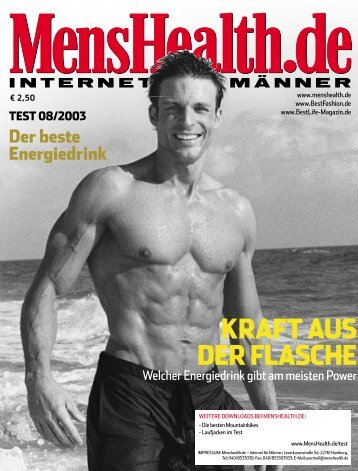 KRAFT AUS DER FLASCHE - Men's Health