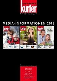 MEDIA-INFORMATIONEN 2013 - Apotheken Kurier