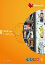 Prospekt San Remo - Selecta Deutschland GmbH