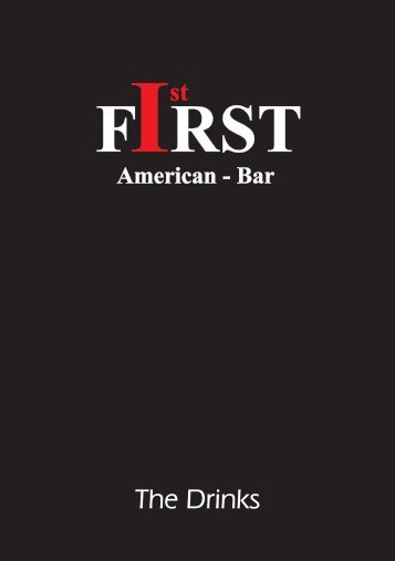 The Drinks - First American-Bar