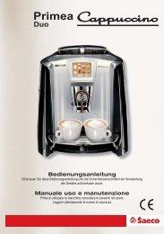 Primea Duo - Kaffee-Service-Balzen