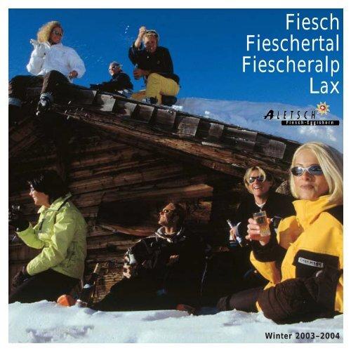 Prospekt Fiesch 2004