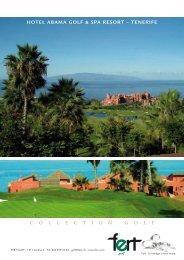 HOTEL ABAMA GOLF & SPA RESORT – TENERIFE - Fert