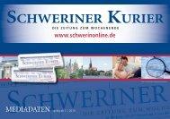 Preisliste als PDF downloaden - Schweriner Kurier